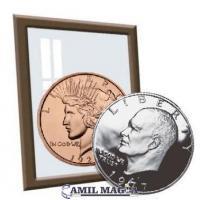 Plata y Cobre 1 Dolar Eisenhower/ 1 Oz Cobre por Camil Magia