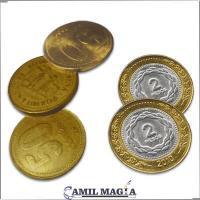 Monedas Gemelas $2/50c Argentinos