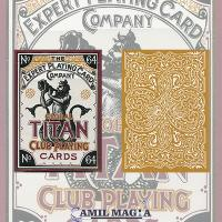 Baraja Global Titan Dorada por The Expert Playing Card Co