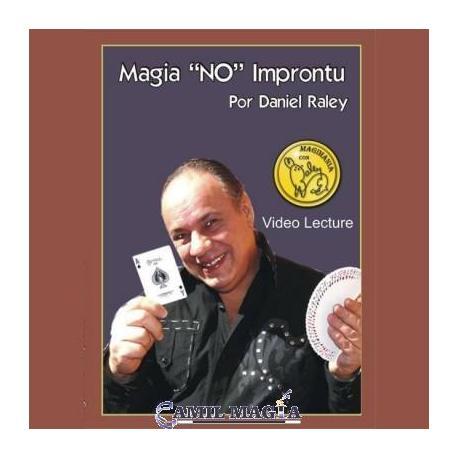 "Magia ""No"" Improntu por Daniel Raley (DVD)"