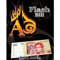 Billete Flahs por Alberico Magic