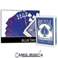 Baraja Azul (Bicycle) por Magic Makers