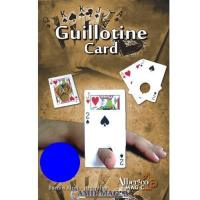 Carta Guillotina (Bicycle) por Alberico Magic