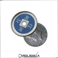 China Aluminum hulls Half Dollar Size by Camil Magic