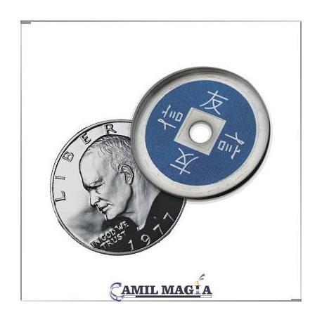 Cascarilla China Aluminio Tamaño 1 Dolar
