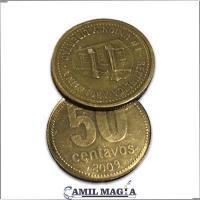 Moneda Flipper 50c por Camil Magia