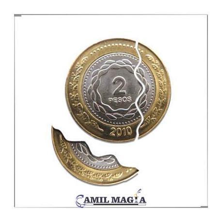 Moneda Mordida Sistema Interno $2 por Camil Magia