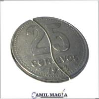 Moneda Plegable Sistema Interno 25c por Camil Magia