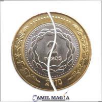 Moneda Plegable Sistema Interno $2 por Camil Magia