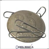 Moneda Magnética 25c por Camil Magia