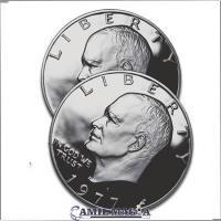Cascarilla Expandida 1 Dolar (Eisenhower) por Camil Magia