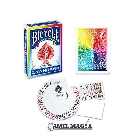 Baraja Dorso Arcoíris Bicycle por Di Fatta