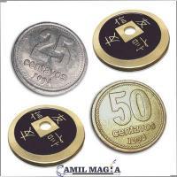 Transposición Plata, Cobre y Bronce (Pesos Argentinos) por Camil Magia