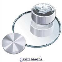 Caja Boston 1 Dolar (Eisenhower) Aluminio por Camil Magia