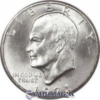Moneda Normal 1 Dolar Eisenhower