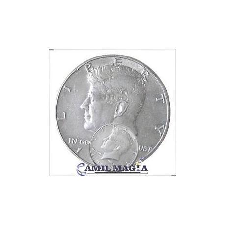 Moneda Jumbo Medio Dolar
