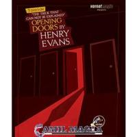 Opening Doors ( Set 3 Dvd) Por Henry Evans y Vernet Magic